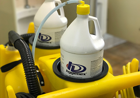 Hygenex  cleaning equipment