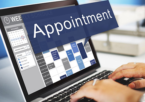 Set and appointment